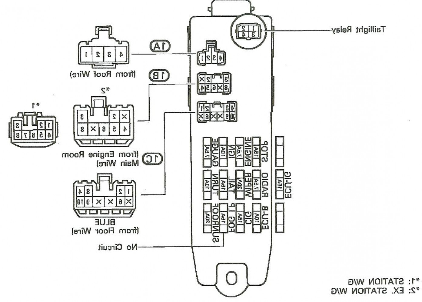 Toyota Matrix Fuse Diagram Boss Bv9555 Double Din Radio Wiring