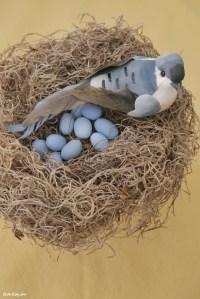 Birds Nest Decoration - Home Decorating Ideas