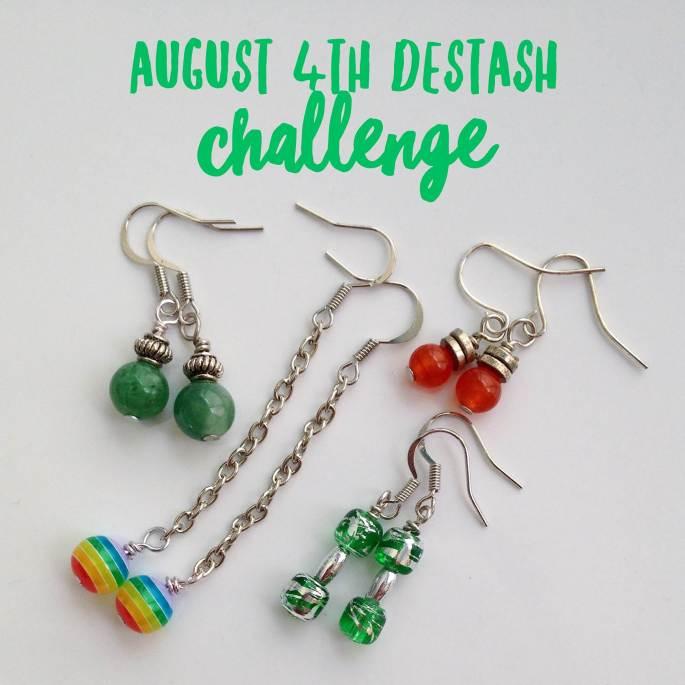 Destashing Beads For Everyday Pretty Earrings