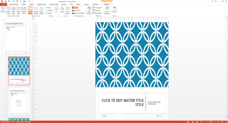 Powerpoint ebook format the title