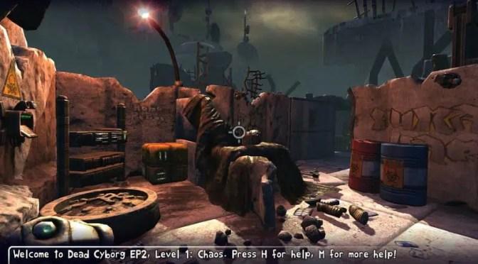 Dead Cyborg: un jeu créé avec le Blender Game Engine