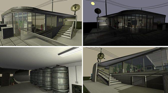 Niveau Playground pour Blender Game Engine