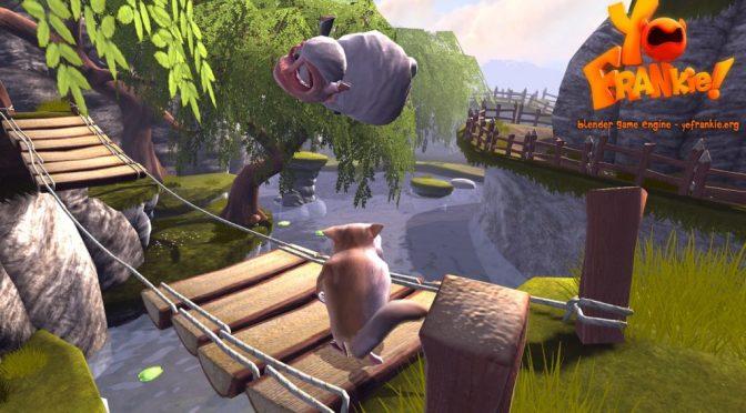 Yo Frankie ! Un jeu créé pour le Blender Game Engine