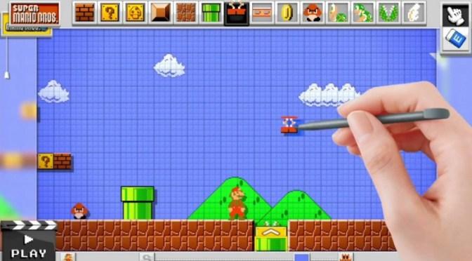 Mario Maker : Même Nintendo voudrait vous apprendre à créer des jeux