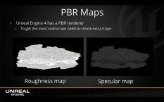 """Pour un rendu Rendu """"Physique Réaliste"""" (PBR) d'autres maps doivent être ajoutées au matériau."""