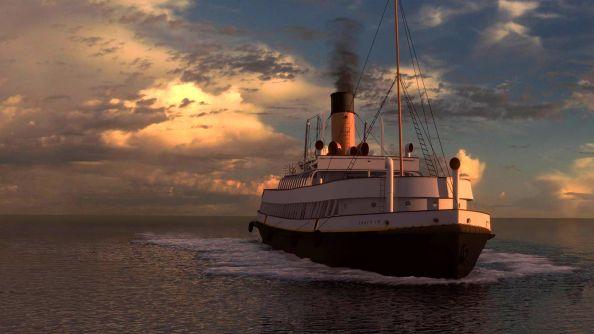Unreal Engine 4: reconstitution du Titanic