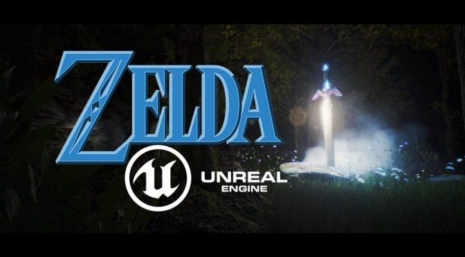 Zelda vs Unreal Engine 4