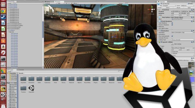 """Unity <span class=""""caps"""">3D</span> Games Editor est maintenant disponible sous Linux"""