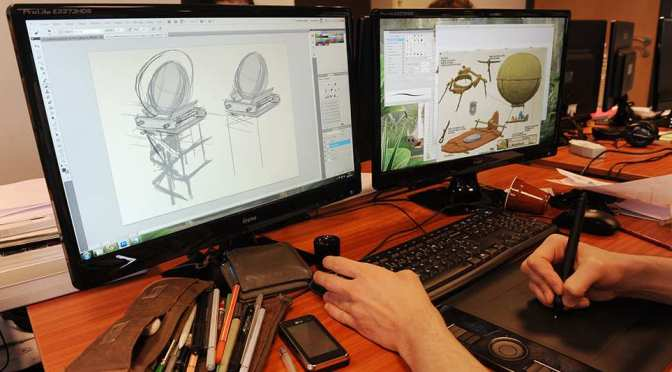 Studios d'animation: recentrer la production en France