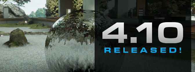 Unreal Engine 4.10 est disponible!