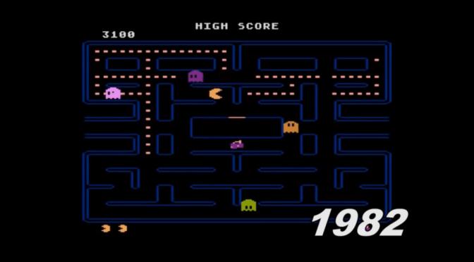 L'évolution du jeu vidéo de 1952 à 2015