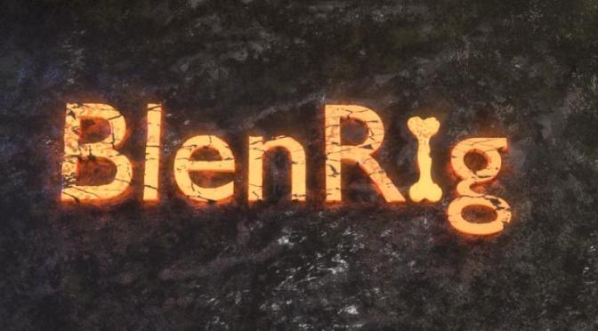 BlenRig 5 pour le rigging automatique et le skinning sous Blender