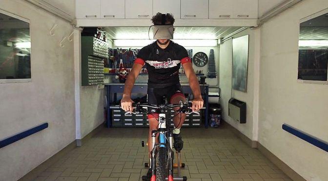 "Widerun pour transformer son vélo en vélo <span class=""caps"">VR</span>"