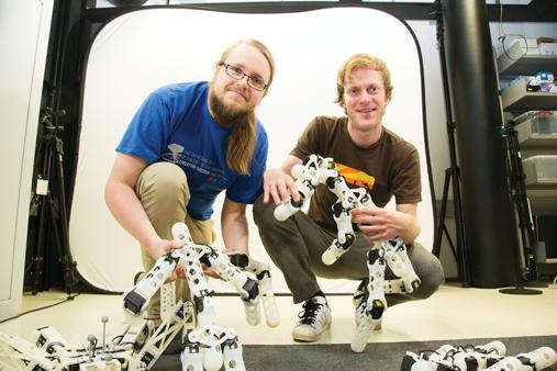 Un robot norvégien apprend à évoluer et s'auto-répare en imprimant ses pièces