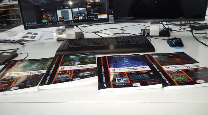 Sortie du tome 5 des cahiers d'Unreal Engine