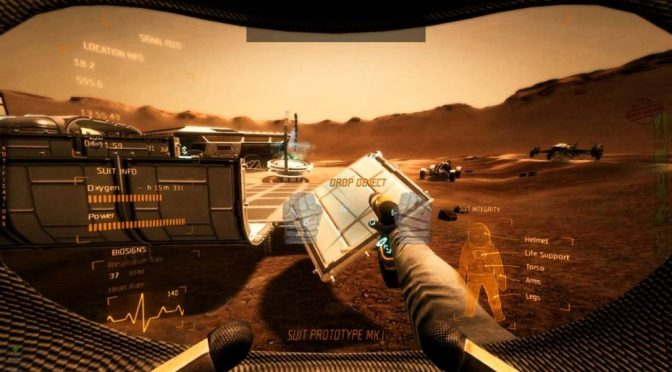 Take on Mars : jeu de simulation de construction et de survie sorti début 2017