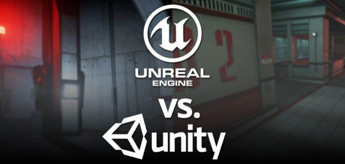 Unreal Engine 4 vs Unity 5: Faites-vous votre propre opinion!