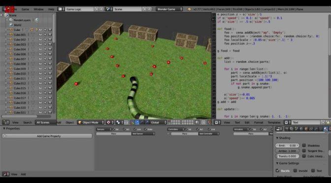 S'initier au Blender Game Engine et à Python