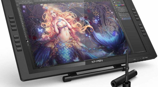 """Mon cadeau de noël: une tablette graphique XP-Pen — Artist <span class=""""caps"""">22EPRO</span>"""