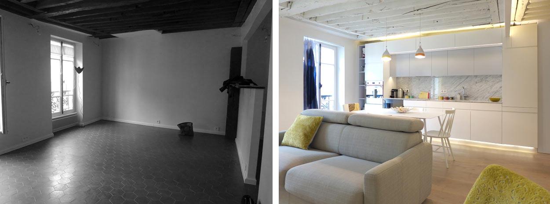 Appartement 2 pices 42m2  Paris