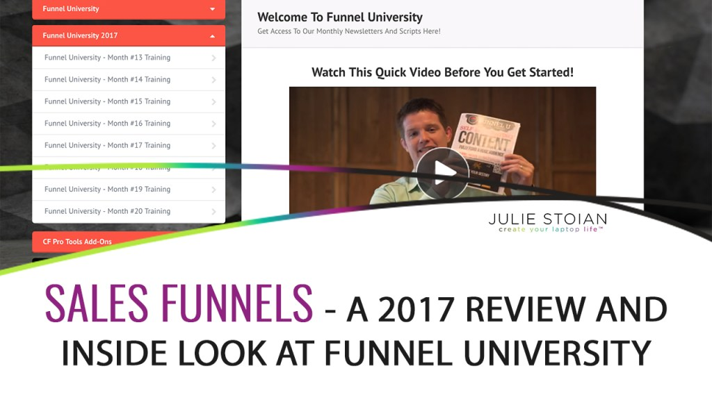 The 2017 Review of Funnel U from Russell Brunson
