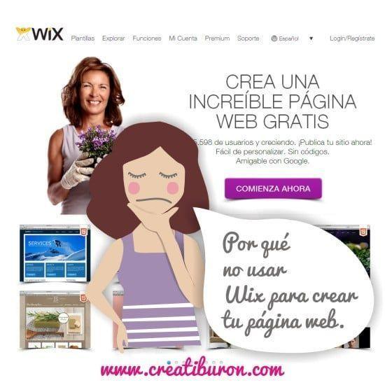 por que no usar wix para hacer tu pagina web de empresa