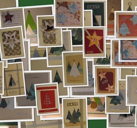 Kerstkaart - Creatief en Simpel - Download de gratis werkbeschrijving op onze site