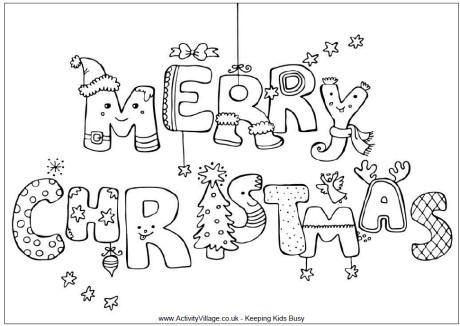 Kleurplaten Kerst - Creatief en Simpel - Download gratis op onze site