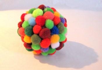 Pompom bal - Download de gratis werkbeschrijving