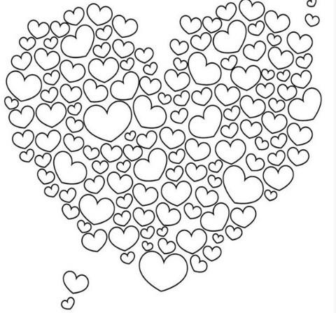 Kleurplaten Valentijn/ Moederdag/ Vaderdag - Creatief en Simpel - Download gratis op onze site