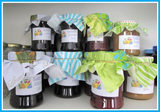 elfgemaakte jam versieren met een mooi etiket en deksel - Creatief en Simpel - Ga naar onze site voor de uitleg en de etiketten om te printen