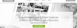 Zenfolio Photography Website Builder Main Page