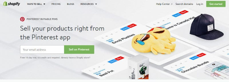 Sell On Pinterest With Shopify