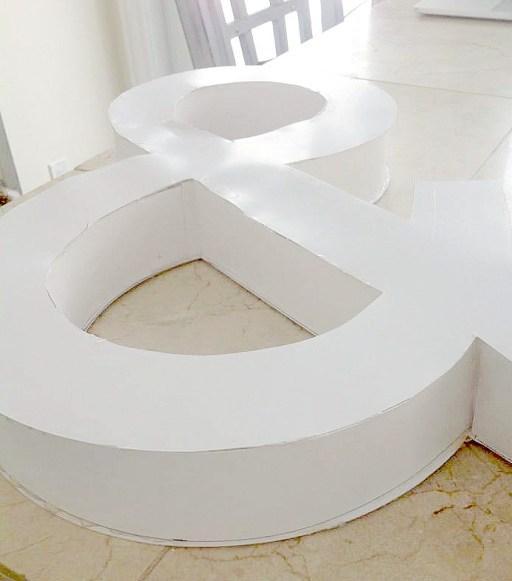 DIY 3D Letter