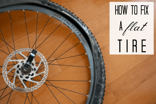 How to fix a flat bike tire {bicycle repairs} - C.R.A.F.T.