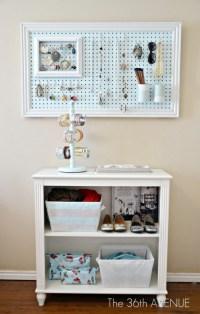 38 DIY Pegboard project ideas - C.R.A.F.T.