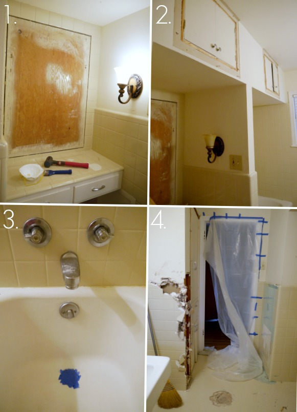 Toilets, tile and demolition hammers, oh my {Part 3}