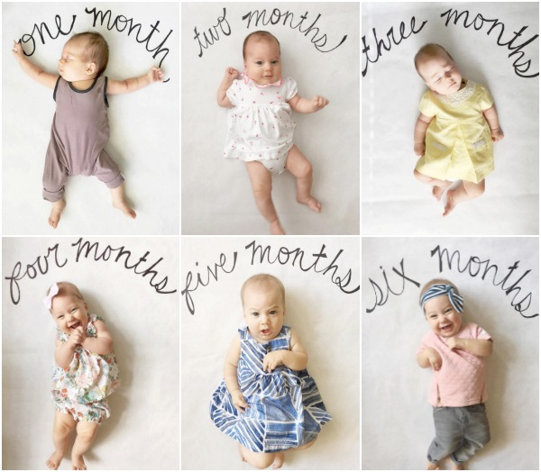 monthly baby pictures c