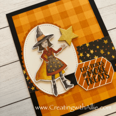 Learn how to make quick and easy  Halloween cards