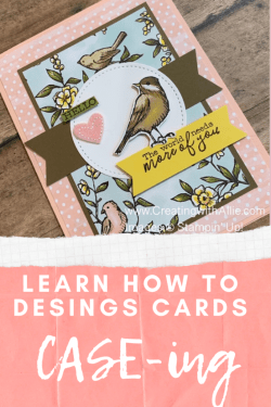 learn how to design cards CASE-ing