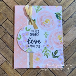 how to make cards using patterned paper