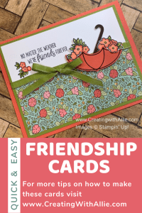How to make 3 quick and easy handmade cards for your friends step by step