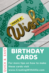 Easy Birthday Handmade cards