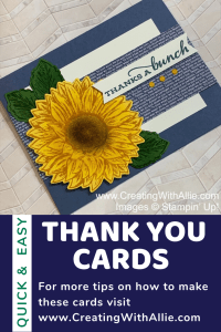 Thank you cards easy to make