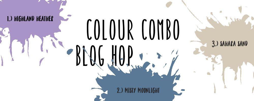 Color combo blog hop banner