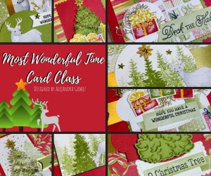 Most Wonderful Time Card Class to-go