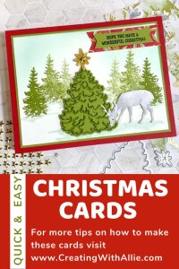 Easy Handmade Christmas Card to make