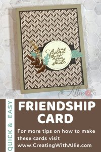 How to make easy Friendship cards