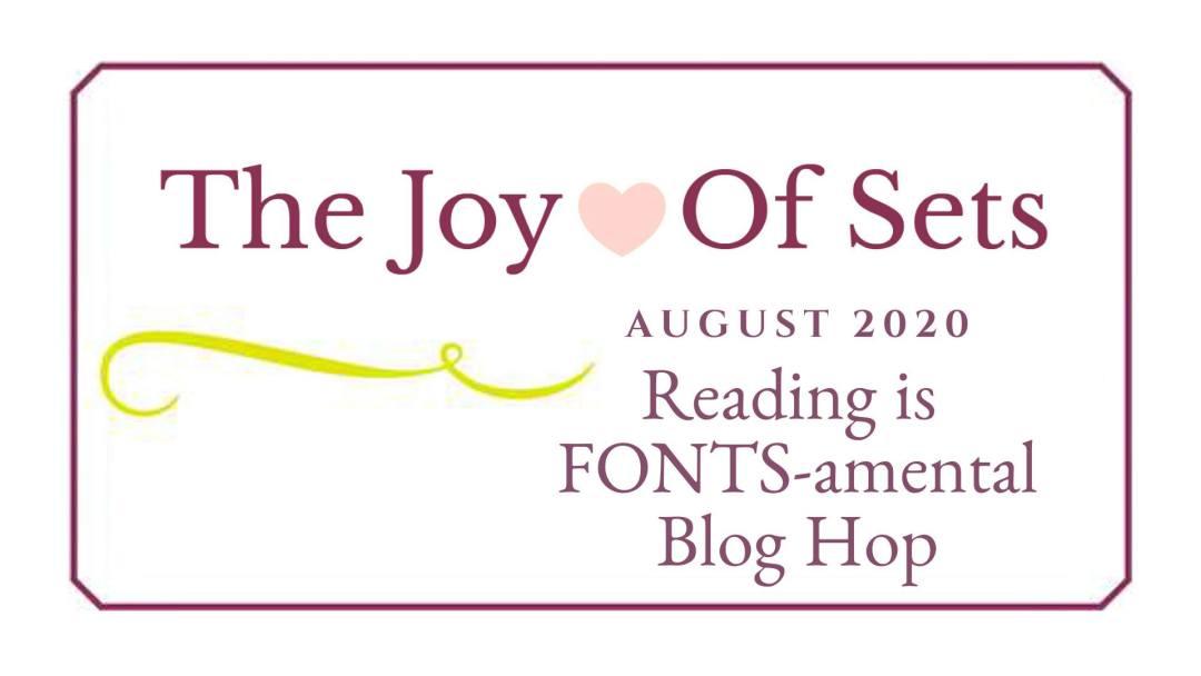 Blog hop banner - JOY of stamps August 2020