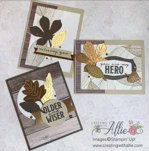 How to Make Masculine cards with Stamps and Die Cuts